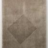 Rasé sur Tondu, env. 1970 toile fourrure acrylique blanche