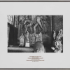Untitled (The Rude Museum), 1985 black and white photograph with printed mat 38.3 x 57.8 cm. without frame / 68.5 x 79.3 cm. with frame